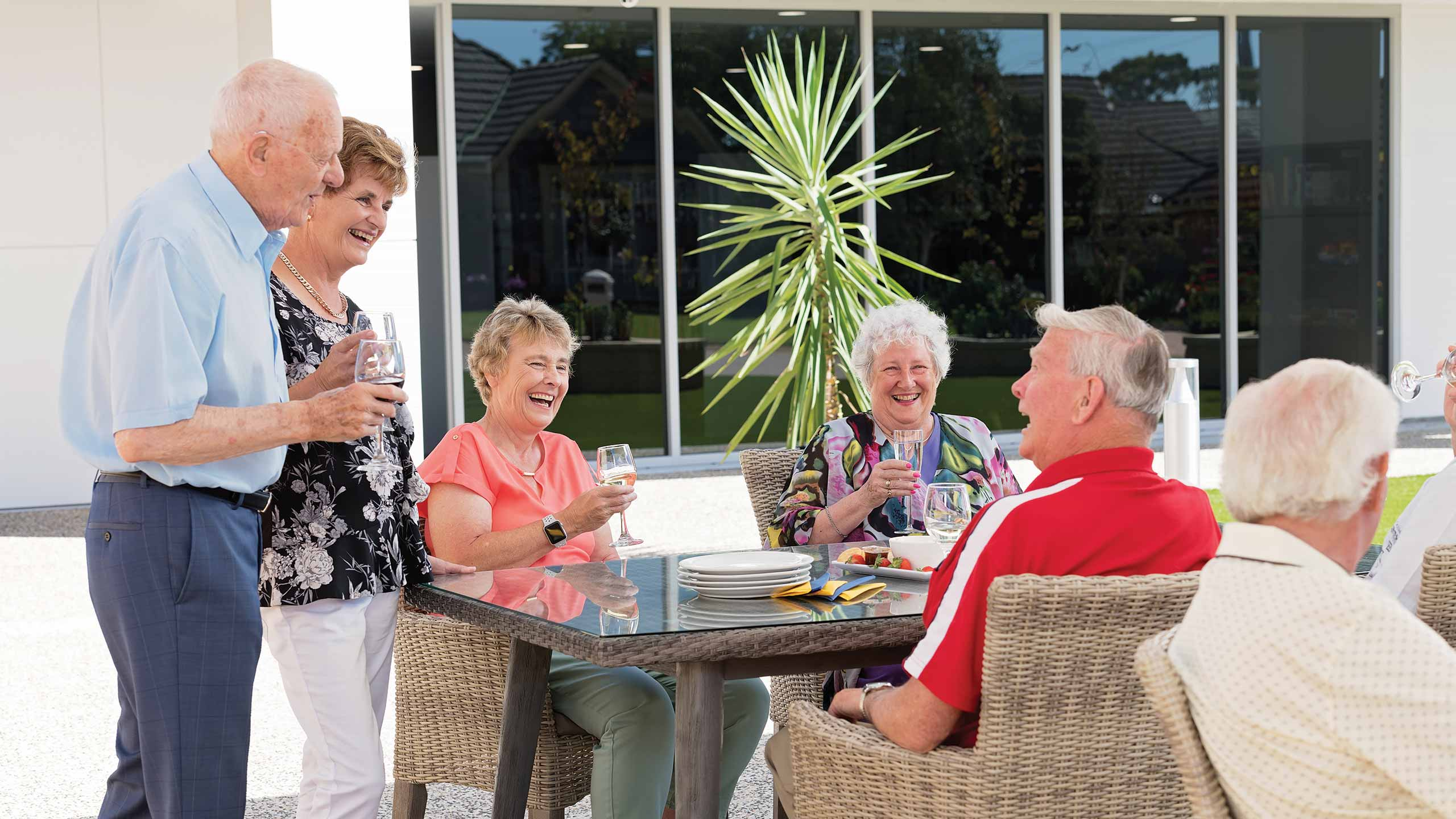 The Benefits of Living in a Retirement Village | SARVRA